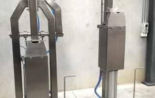 Beef Cheek Chisel & Jaw-Breaker on Rail (Pneumatic)