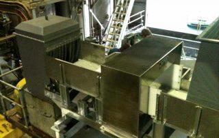 Belt Conveyor with Metal Detector for Rendering